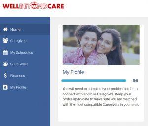 caregiver dating service